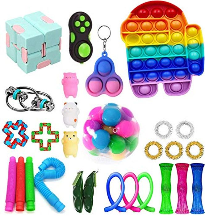 Fidget Toy Set, Fidget Toys Pack, 26 Pcs
