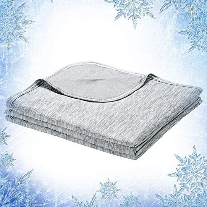 DEAL STACK - Elegear 2 in 1 Design Throw Cool Summer Blanket + £4 Coupon