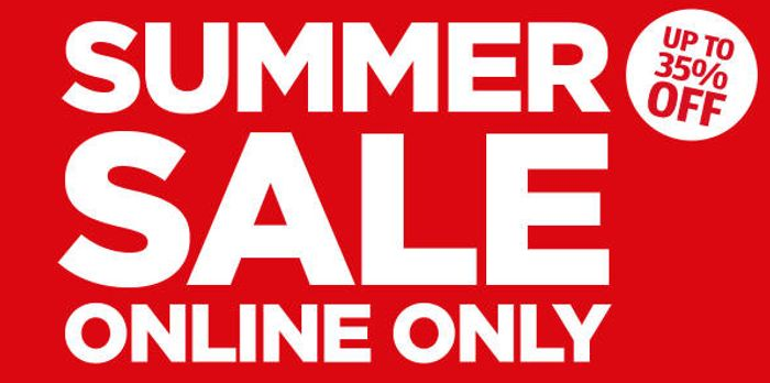 Up to 35% off Online Only Summer Sale at Aldi