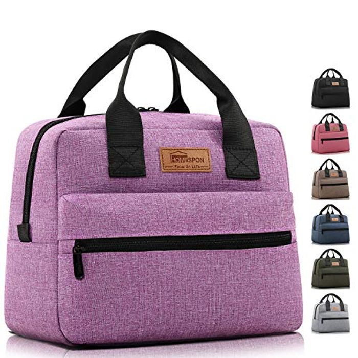 HOMESPON Large Capacity Insulated Lunch Bag