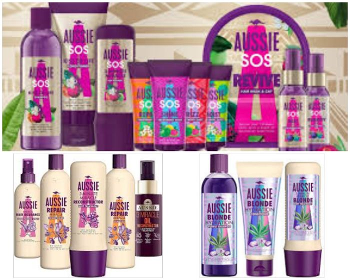 Now save 1/3 on Selected Aussie Shampoo, Conditioners, Masks, Treatments