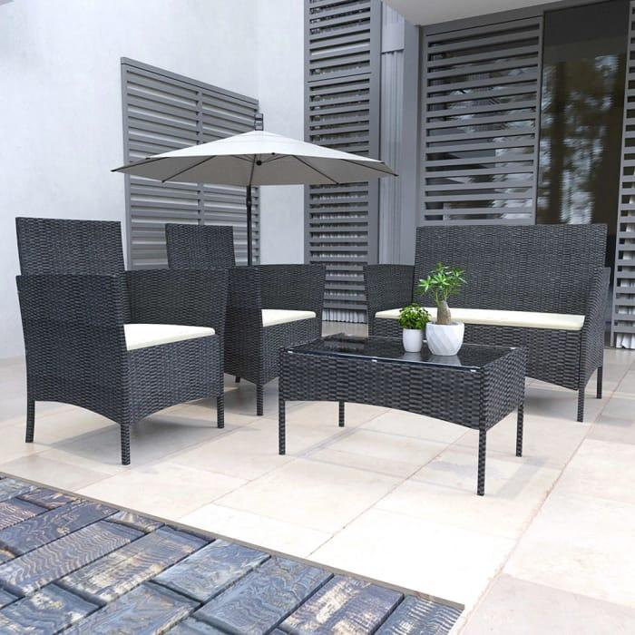 4 Seater Garden Furniture Set
