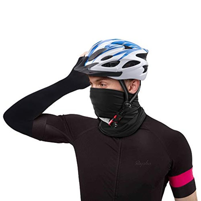 TENOL 3 Piece Face Mask and Ice-Sleeve Motorcycle Helmet - Only £4.80!