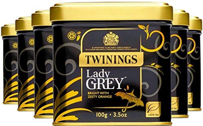 Twinings LADY GREY LOOSE TEA CADDY - 100G