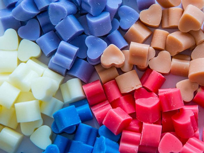 50 Highly Scented Mini Soy Wax Melts - Assorted - Free Delivery
