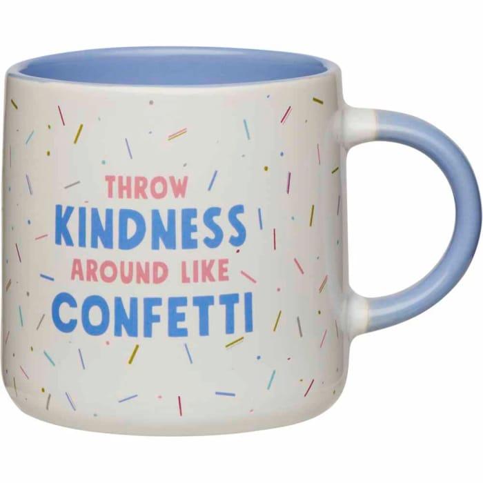 Wilko Funky Phrase Confetti Mug