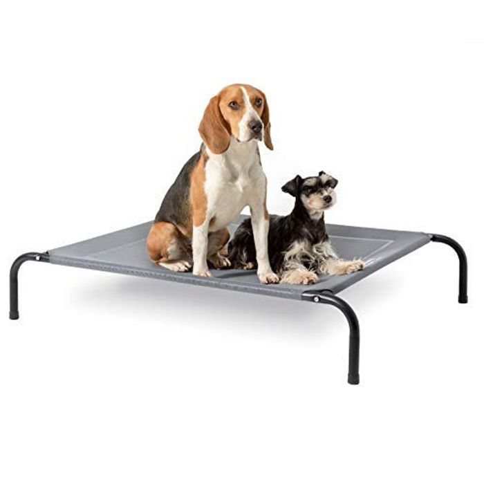 DEAL STACK - BEDSURE Raised Large - Elevated Waterproof Dog Bed + 10% Coupon