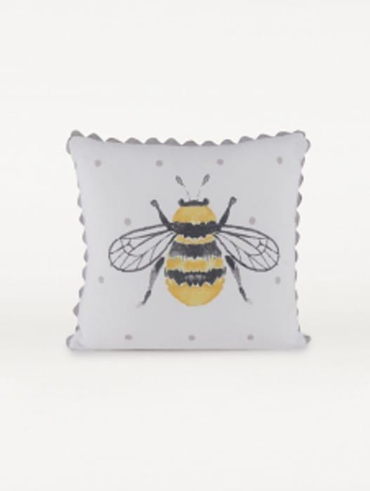 Natural Buzzing Bee Cushion