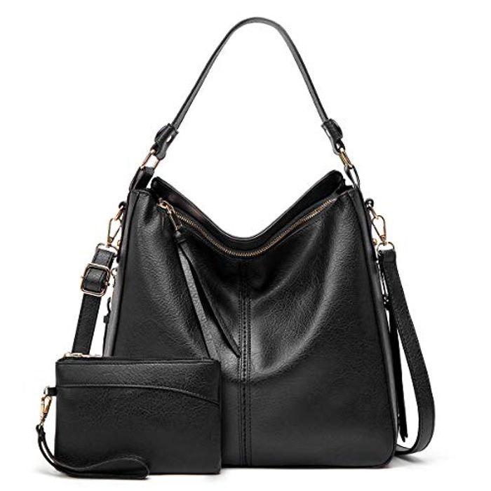 Large Capacity Top-Handle Crossbody Hobo Bags, 2PCS for Women - Only £9.00!