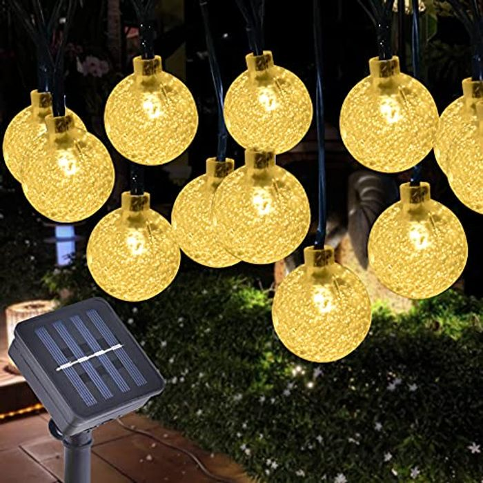 Gresonic Waterproof 30 LEDs Crystal Ball Fairy Globe String Lights - Only £4.94!