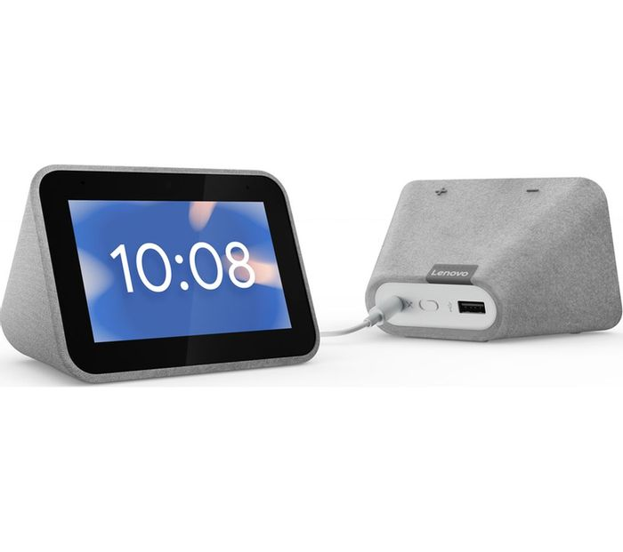 LENOVO Smart Clock with Google Assistant - Only £29.97!