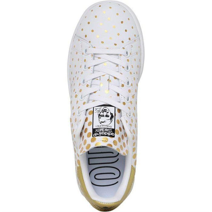 Adidas Originals Womens Stan Smith Trainers Gold Metallic/Footwear