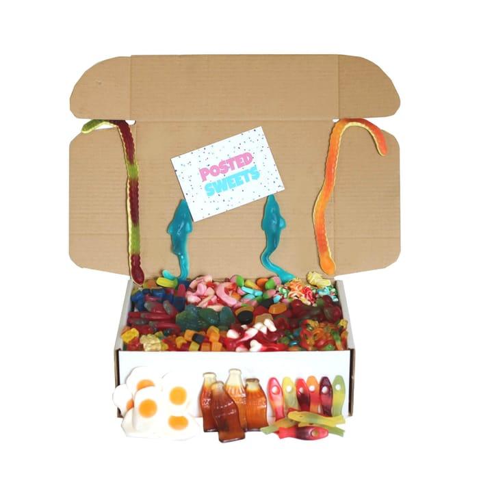 Gummy Sweet Gift Box Hamper
