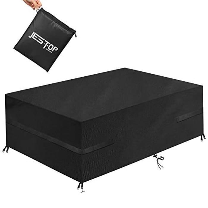 JESTOP 600D Patio Furniture Cover - (170 X 94 X 70 CM)