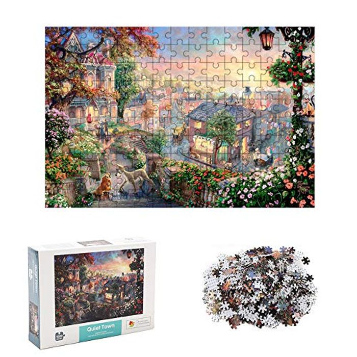 1000 Piece Jigsaw Puzzles for Adults (Only £2.84 with Promo Code S4264FKM)
