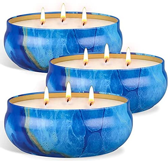 OFUN Citronella Candle Outdoor Large, 3 Wick Scented Candles - Only £9.99!