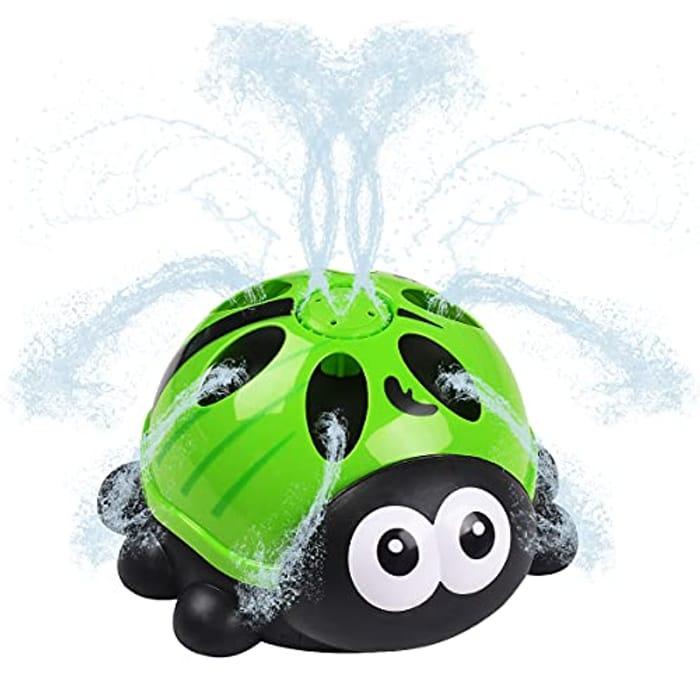 WOT I Sprinkler for Kids,Water Spray Toy for Garden Backyard - Only £5.50!