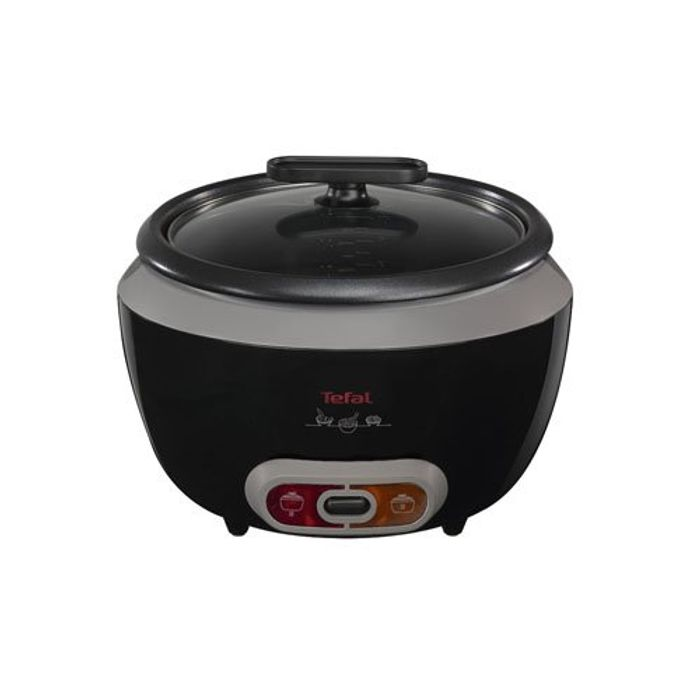 Tefal RK1568UK Cool Touch Rice Cooker, (20 Portions), 700 W, 1.8 Litre, Black