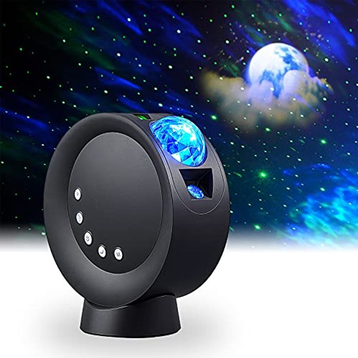 DEAL STACK - LooEooDoo LED Star Projector Light, Galaxy Lighting + 10% Coupon