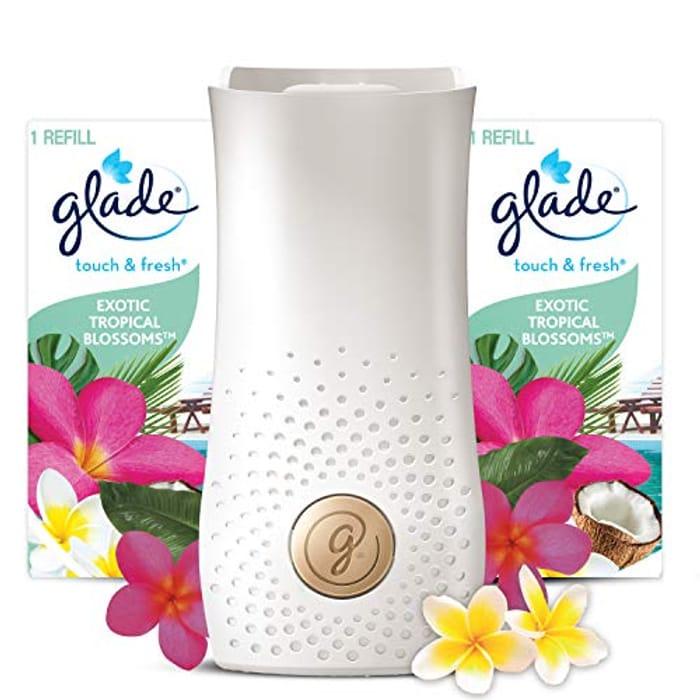 Glade Touch & Fresh Bathroom Air Freshener - Only £3.75!