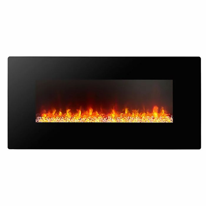 Focal Point Columbus Glass Effect Electric Fire £62 at B&Q