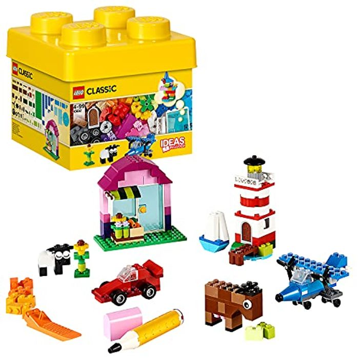 LEGO Classic Creative Bricks, Classic Colorful Building Set - Only £7.98!