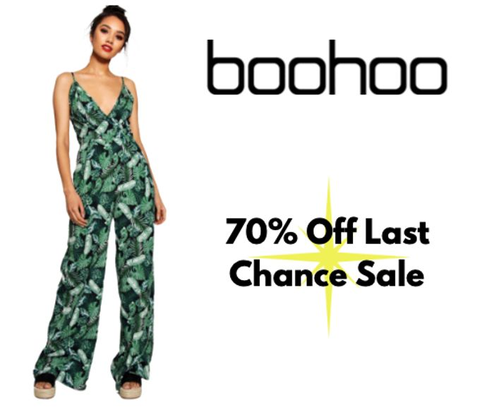 Up to 70% Off Last Chance Sale + 20% off Everything Else