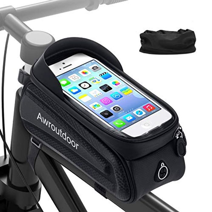 Awroutdoor Waterproof Bicycle Bike Frame Pouch Storage Bag - Only £4.99!