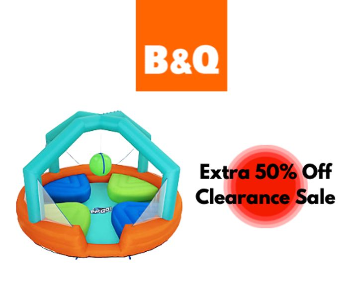 Save 50% Extra on Outdoor Clearance Inc Garden Furniture & BBQs at B&Q