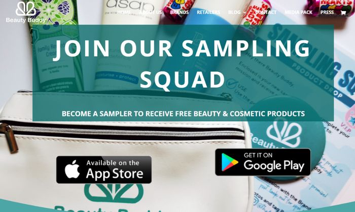 Join Our Sampling Squad To Receive Free Beauty & Cosmetic Products