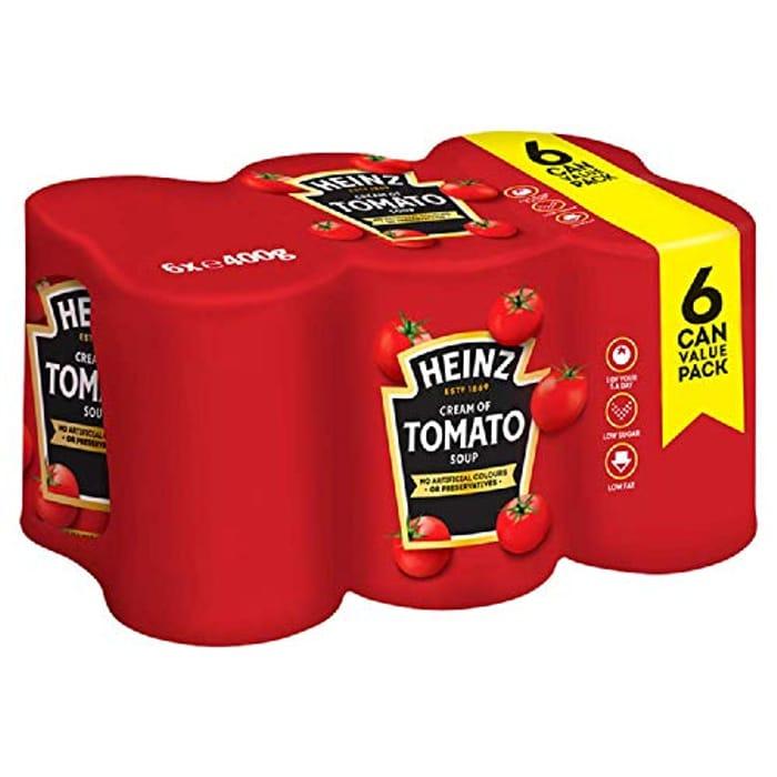 Back in Stock! Heinz Cream of Tomato Soup Big Family, 6 X 400 G