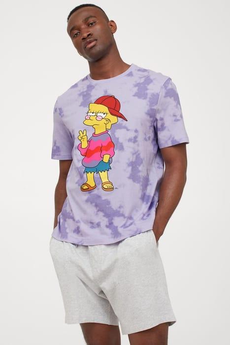 The Simpsons Pyjama T-shirt/Shorts