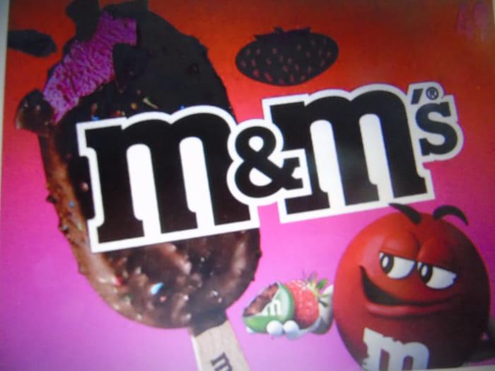 4pk M&M's Strawberry Ice Cream Sticks While Stocks Last