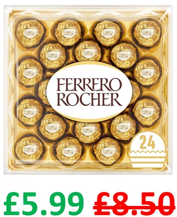 Ferrero Rocher Chocolate Gift Box of 24