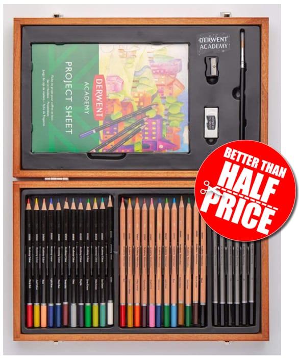 Derwent Academy Art Pencils - 35 Piece Set *4.7 STARS*