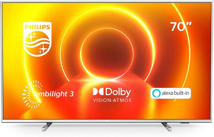 CHEAP! Philips Ambilight 70-Inch LED Smart TV with Alexa Built-In