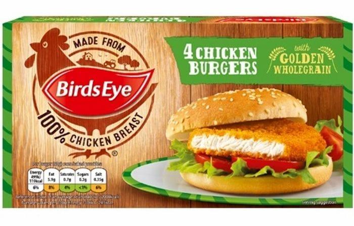 Birds Eye 4 Chicken Burgers 200g - ONLY 82p!