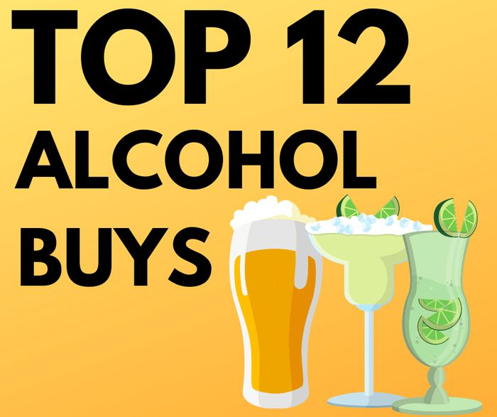 12 Cheap Booze Buys - Prices from £4.50