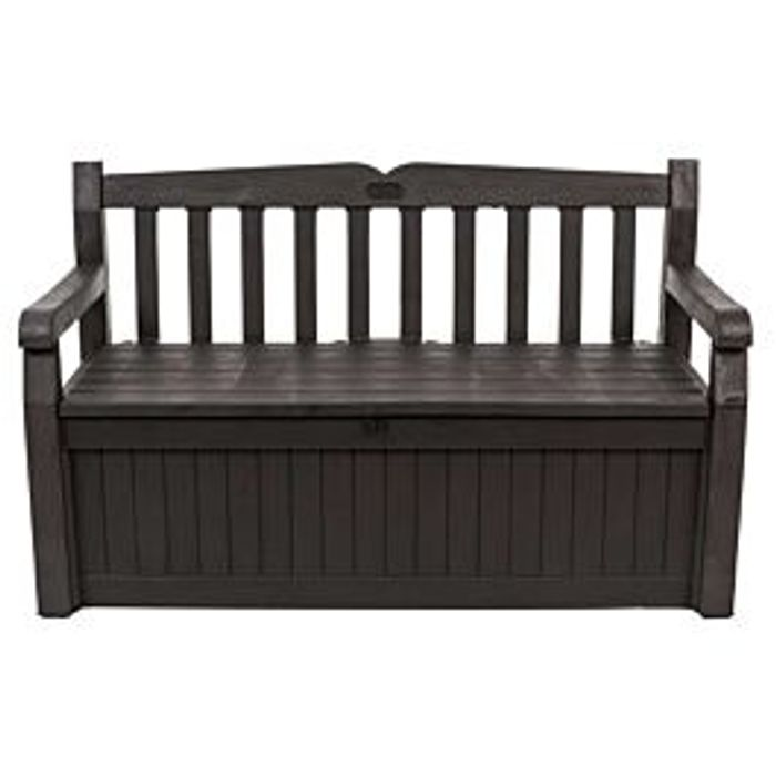 Best Price! Keter Iceni 265L Storage Bench - Brown