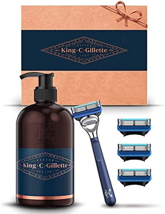 King C. Gillette Beard Grooming Kit for Men - Only £8.62!