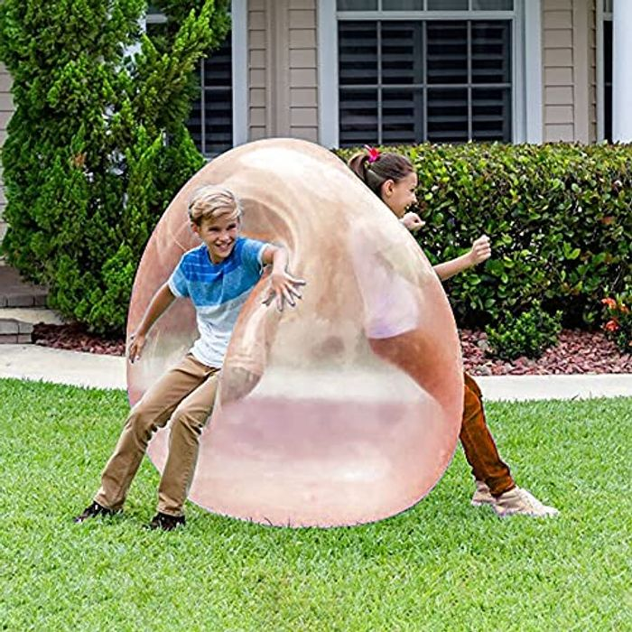 Xiauyu Inflatable Fun Bubble Bal for Kids Outdoor Party - Only £4.80!