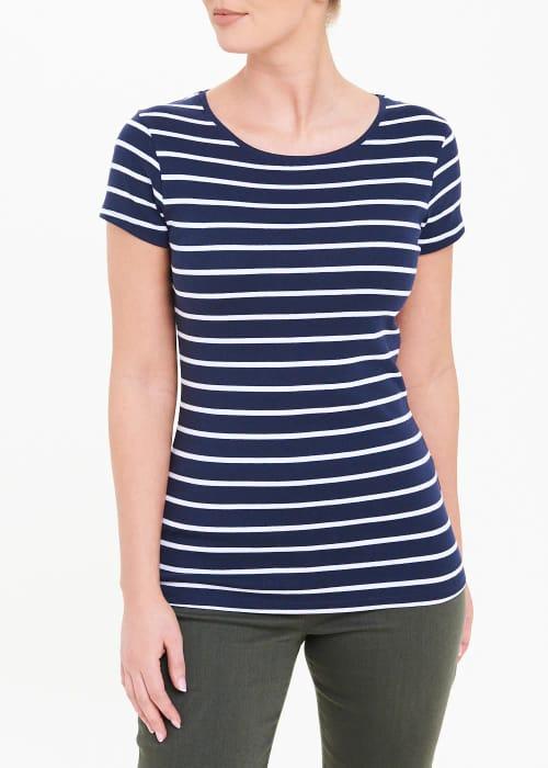 Perfect Short Sleeve Stripe T-Shirt