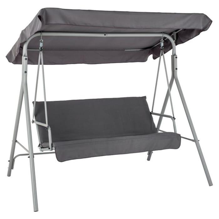 3 Seater Metal Swing Chair