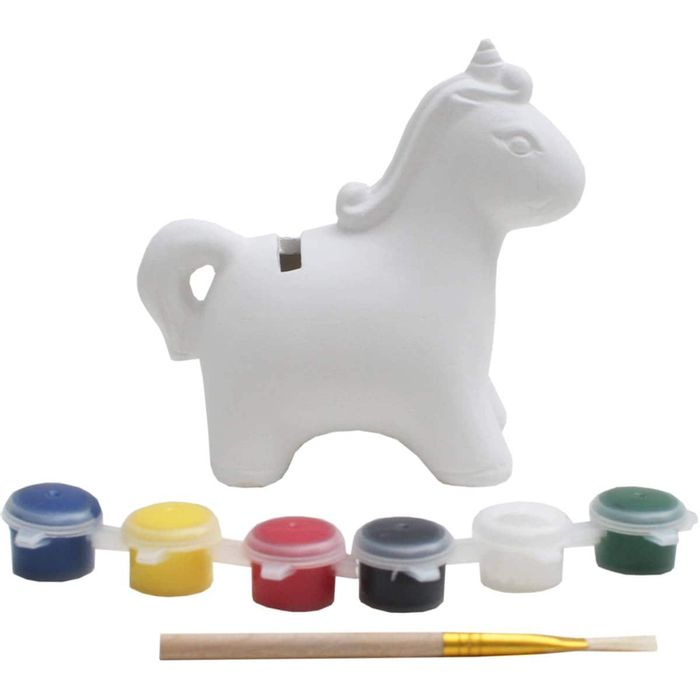 Cheap Paint Your Own Unicorn Money Box - Only £1.25!