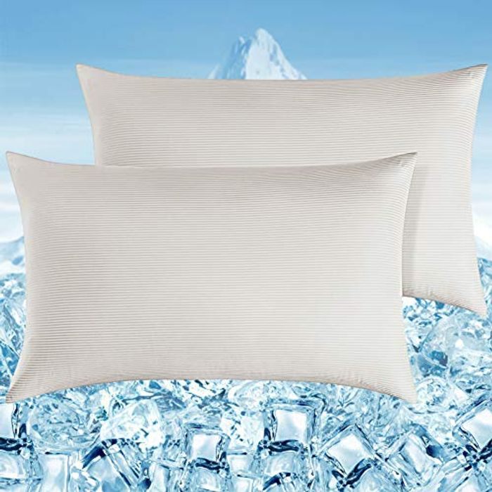 Elegear 2 Pack Cooling Pillow Cases