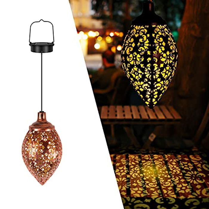 KNMY Solar Hanging Lantern
