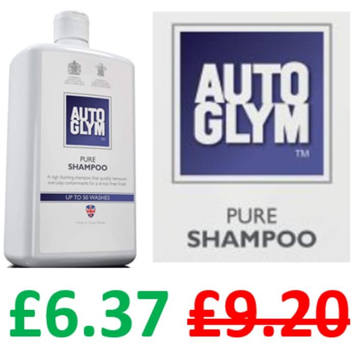 Autoglym Pure Shampoo, 1 LITRE / 50 WASHES