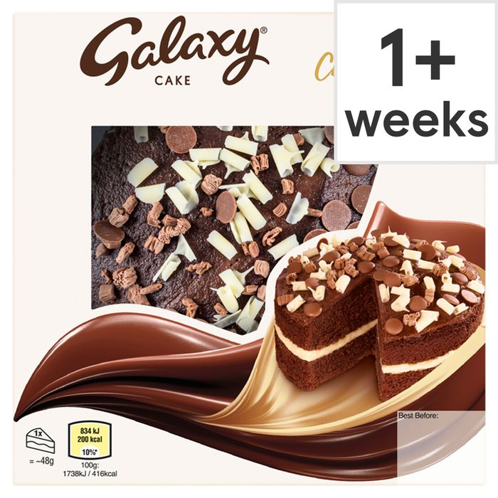 Galaxy Triple Chocolate Cake