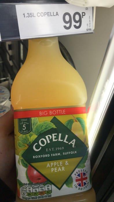 Copella Apple + Pear Juice - 1.35l Bottle