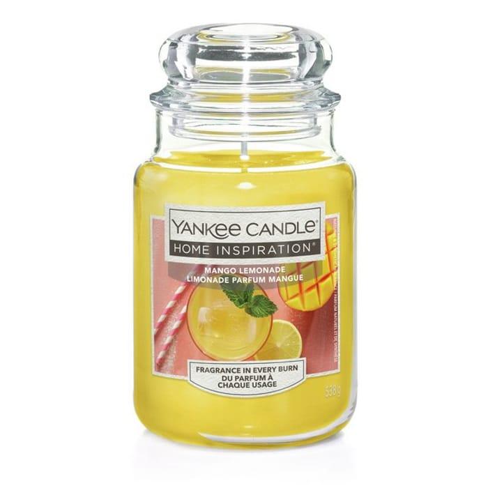 Yankee Candle Large Jar Candle - Mango Lemonade